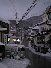 Village - street 06 (drayy) Tags: snow ski japan skiing village onsen hotspring nagano  snowcovered   nozawaonsen