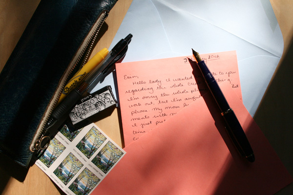 traveling letters
