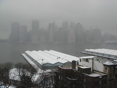 Foggy view from Brooklyn Heights (Ann Althouse) Tags: