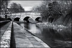 bulwell bridge (vcrimson) Tags: nottingham bridge england river spring pavement steps bulwell