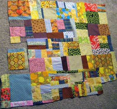 Scrap Quilt (In Progress)