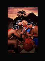 Ritual de furao Xavante (Rito de Passagem) Tags: brazil indian ritual passagem mato indio grosso aldeia indgena povo orelha rito xavante furao
