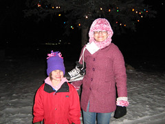 On the way out after Skate the Lake