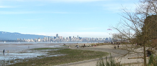View of Vancouver from Locarno Beach