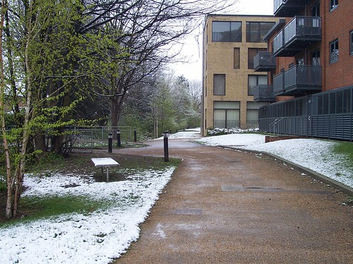 "Statutory ""It's snowing in April"" photos"