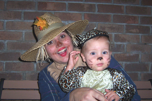 Scarecrow and Baby Leopard