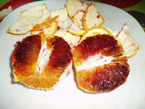 Naranjas de sangre