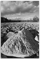Boulder Field (Artem Portnoy) Tags: park sky bw nature field clouds rocks natural pennsylvania stones erosion boulders geology ultrawide geological fenomenon