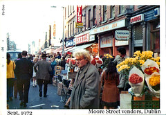 Street Vendors, Moore St. (ColleenM) Tags: street old flowers ireland portrait dublin st all group moore vendor sheils 1972 003 londis kodacolor countydublin vendors kodakpony135 irishstreetphotography madiganslounge thesewingbox csmlabel