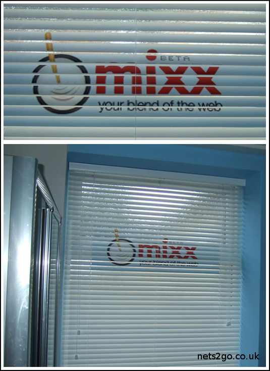 Mixx White venetian Blinds