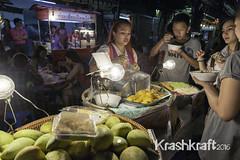 Mangoes, Jackfruit and Sticky Rice (krashkraft) Tags: 2015 allrightsreserved bangkok chinatown chinesenewyear jackfruit krashkraft lunarnewyear mango stickyrice thailand yaowarat yearofthegoat krungthepmahanakhon th