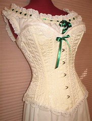 Ivory corset sweetheart (scarlett283) Tags: costumes scarlett civilwar corset period reenactment petticoat camisole gonewiththewind chemise gwtw crinoline scarlettohara undergarments underpinnings pantalettes pantalets hoopslip
