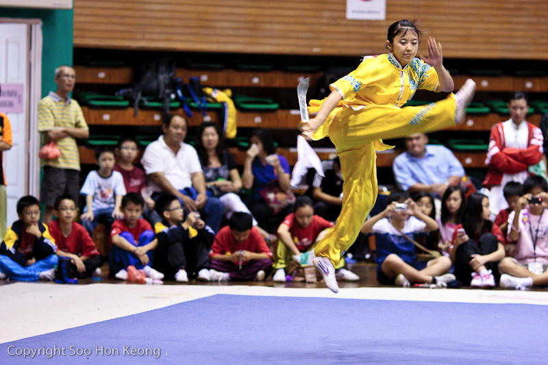 Wushu Performance (Dancing in the Air) @ KL, Malaysia