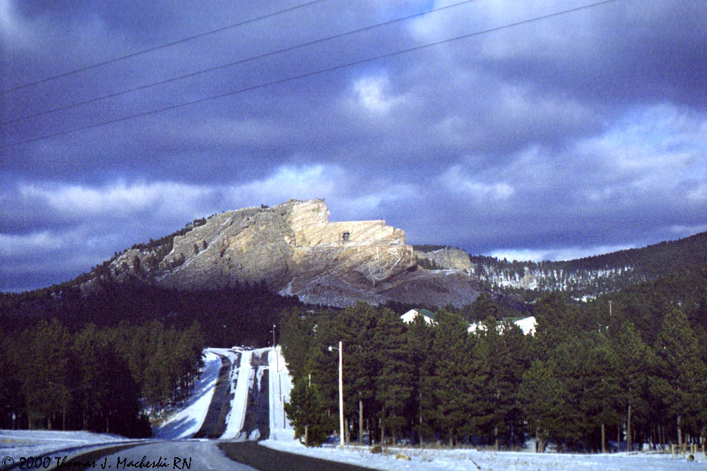 Going to See the Crazy Horse Memorial