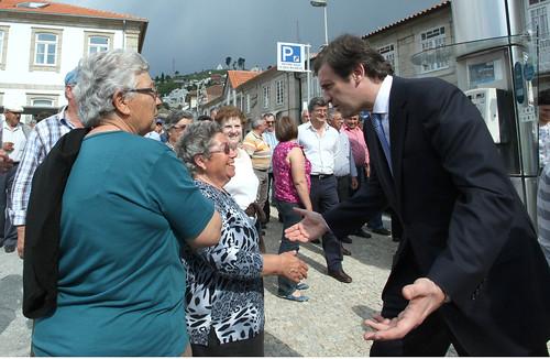 Pedro Passos Coelho visita Vila Pouca de Aguiar