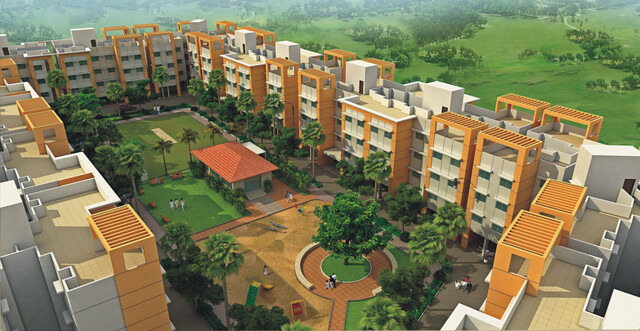 Anandgram Talegaon Dhamdhere Elevation