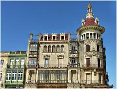 2045-Torre dos Moreno en Ribadeo (Lugo) (jl.cernadas) Tags: arquitectura edificios galicia galiza modernismo arquitecture ribadeo provincialugo