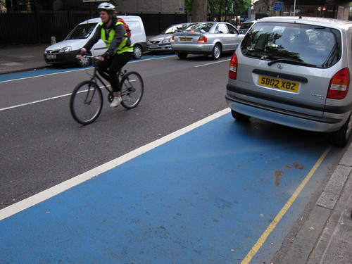 Were Cycle Superhighways designed to encourage 'vehicular cycling'?