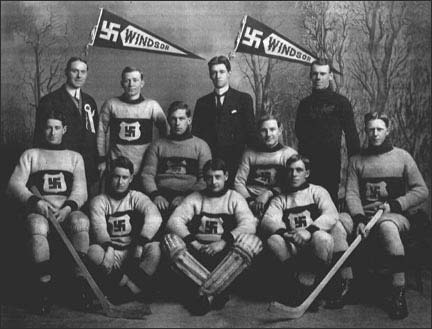Windsor Swastikas Light Team, 1912