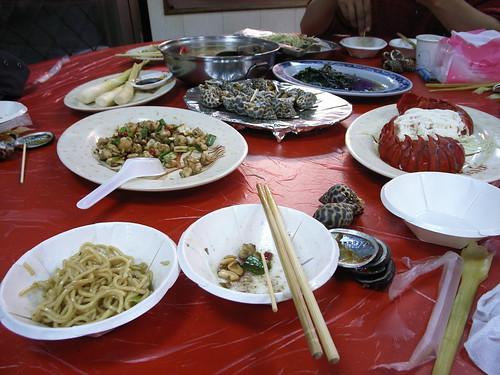 富基漁港:海鮮大餐