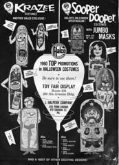 1960 Halco Halloween Costume ad