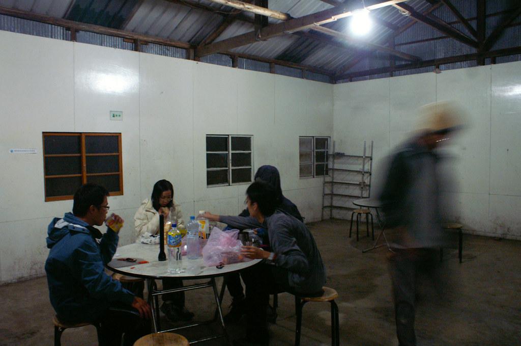 七卡山莊廚房