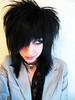 Dark Emo Hairstyle