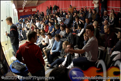 Racquetball Photo: 2007 US OPEN   Back Bleachers