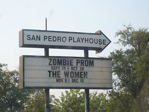 San Pedro Playhouse sign