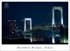 Rainbow Bridge (Davi Kanno) Tags: japan tokyo nikon odaiba nikkor rainbowbridge 70200mmf28gvr d80 aplusphoto davikanno