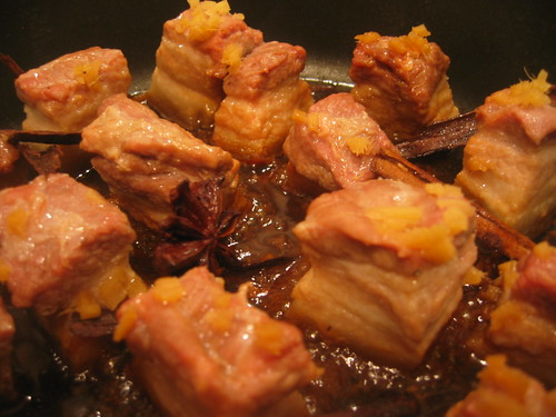 Hung Shao Pork - In The Pan