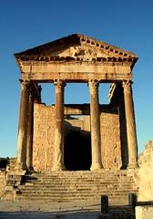 Capitol, Dougga (Subzero Blue) Tags: city heritage archaeology ruins roman tunisia antique unescoworldheritagesite unesco capitol archeology worldheritage dougga thugga