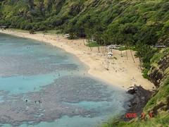 Good place for snorkling (Fr. Mariusz Majewski) Tags: hawaii oahu hanaumabay