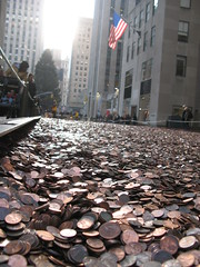 100 Million Pennies NYC
