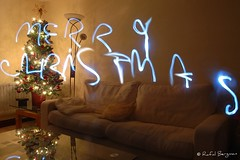 Merry Christmas Everybody! (Rafal Bergman) Tags: christmas decorations light tree night painting long exposure interior story wishes merry