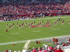 DSCN2240 (awinner) Tags: friends game football cheerleaders stadium nfl halftime atlantafalcons 2007 raymondjamesstadium tampabaybuccaneers december2007 december16th2007