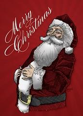 Santa Card 2007