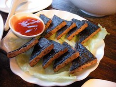 Fried Seaweed Triangle
