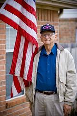 Veteran (jawbone54) Tags: world usa soldier bill war purple heart dean grandfather battle william ii american horton gramps veteran airborne bulge paratrooper normany 82nd 441st