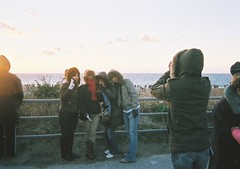 (bobby stokes) Tags: sun film beach japan sunrise japanese dawn toycamera natura newyear 1600 fujifilm disposablecamera analogue disposable hatsuhinode  trashcam fujicolor fujinatura1600 singleusecamera fujicolornatura1600