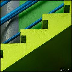 """Green up"" stair (Barry Lu ) Tags: abstract color philippines stripe soe 10faves golddragon abigfave colorphotoaward ultimateshot goldenphotographer diamondclassphotographer megashot ysplix colourartaward barrylu goldstaraward"