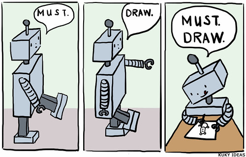 Must draw robot