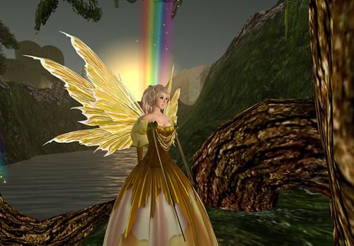 Rainbow faerie