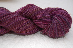 Forbidden Fruit 3-ply merino sock