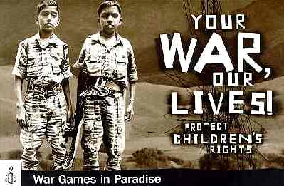Amnesty International: Child Soldiers in Sri Lanka