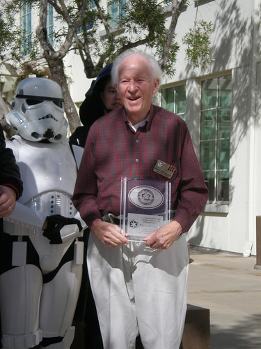 Today, legendary Star Wars concept artist Ralph McQuarrie was presented