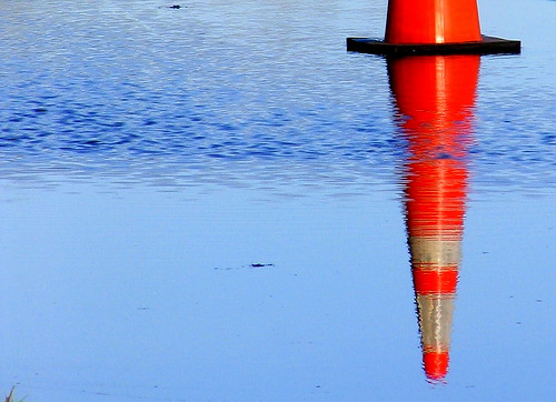 Floating Traffic Cone