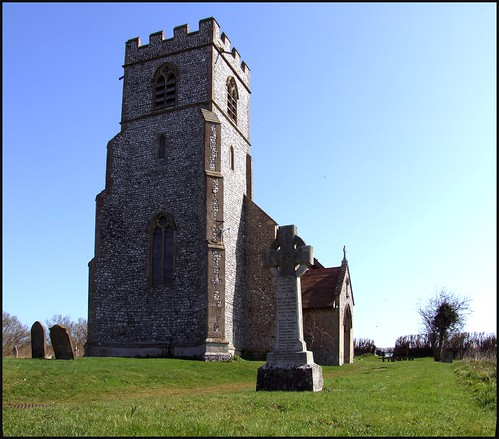Little Barningham: click to enlarge