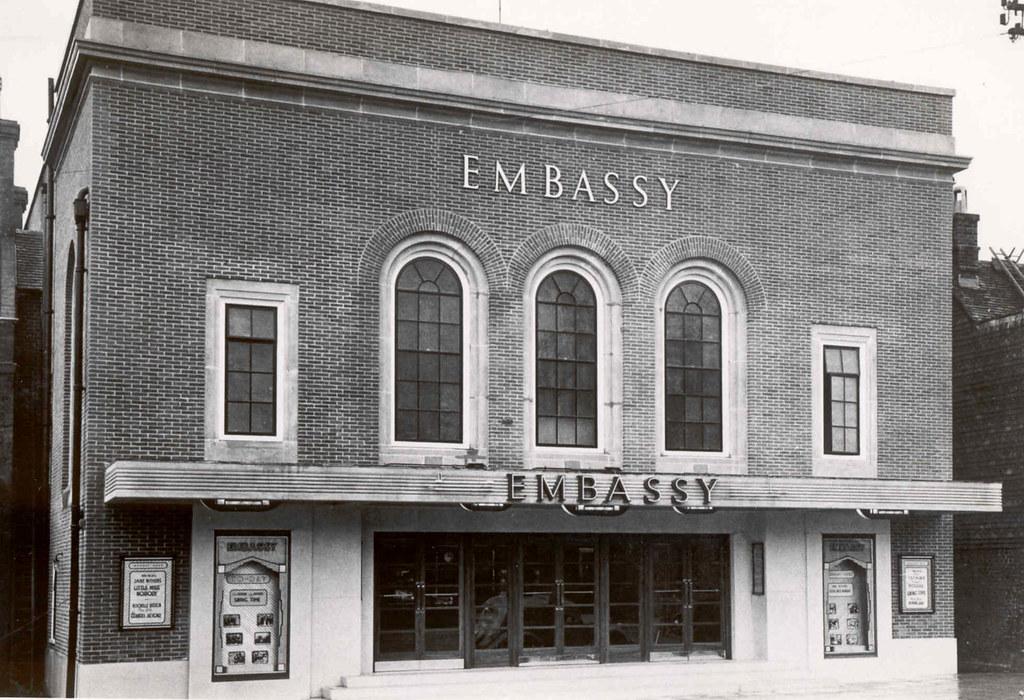 THE EMBASSY CINEMA TENTERDEN. KENT. UK.