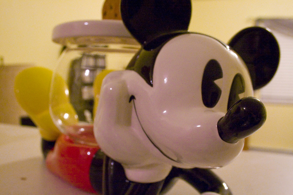Day 256: Mickey Cookie Jar